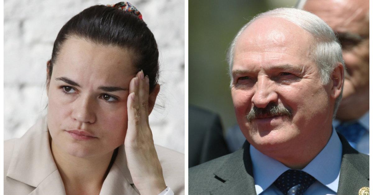 Białoruś.  W apelu Światłany Cichanouskiej do władz Łukaszenka ocenia protesty