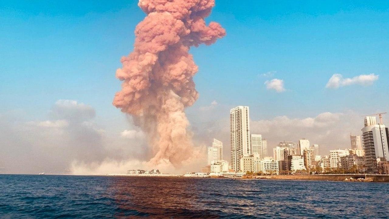 Liban. Wybuch w Bejrucie. Potężna eksplozja w porcie. Liczba zabitych i rannych