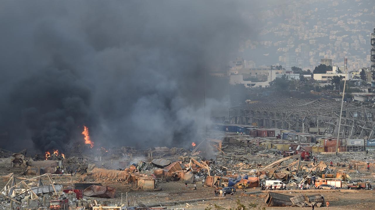 Liban.  Wybuch w Bejrucie.  Reakcje światowych przywódców
