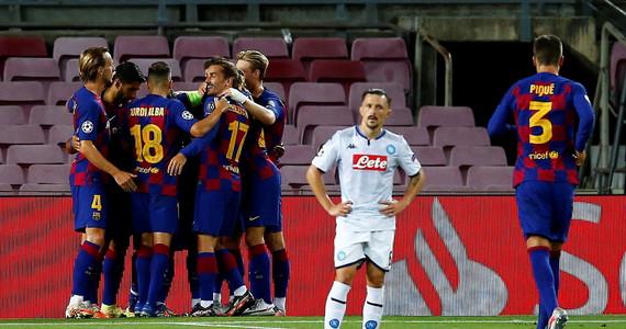Liga Mistrzów: Barcelona wygra z Napoli, Blaugrana zagra z Bayernem