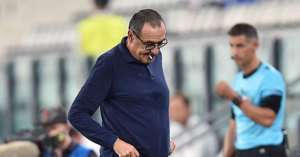 Maurizio Sarri strzelił z Juventusu |  Liga Mistrzów UEFA
