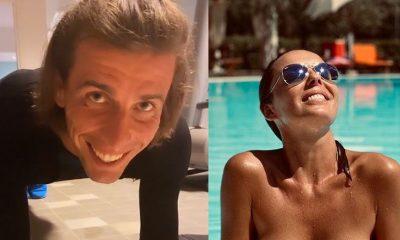 Mokra Agnieszka Włodarczyk kusi dużym biustem na wakacje z nowym chłopakiem (FOTO)