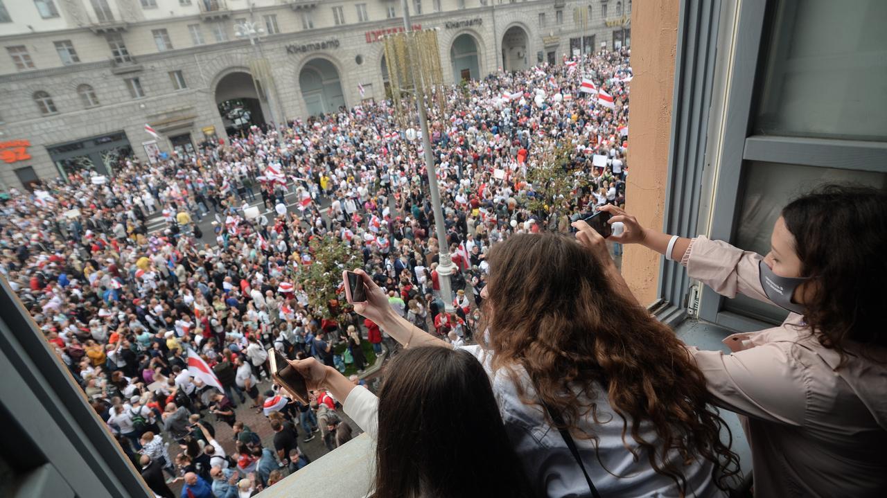 Wybory na Białorusi.  Agnieszka Romaszewska-Guzy: Łukaszenko nie może stłumić tego protestu