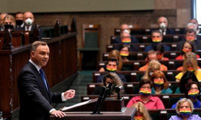 Zaprzysiężenie Andrzeja Dudy.  Kancelaria Sejmu usunęła zdjęcie