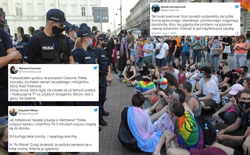"""Zatrzymanie Michała Sz. rozpalony Twitter. """"Może ktoś powie opozycji, że aresztowanie zarządzi sąd. Sąd, a nie prokuratura, nie policja, nie ministerstwo"""""""